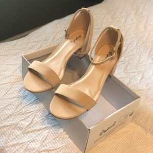 Shoes - NWT nude strap sandal